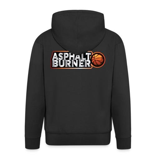 Asphalt Burner - for streetball players - Men's Premium Hooded Jacket