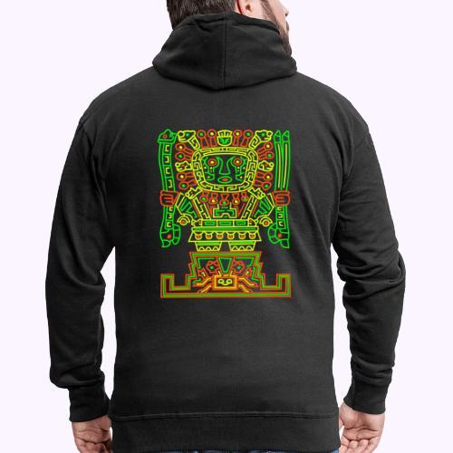 Viracocha Tiki - Chaqueta con capucha premium hombre
