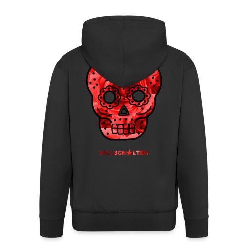 Skull Roses - Men's Premium Hooded Jacket
