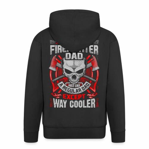Ich bin ein Feuerwehr DAD - Männer Premium Kapuzenjacke