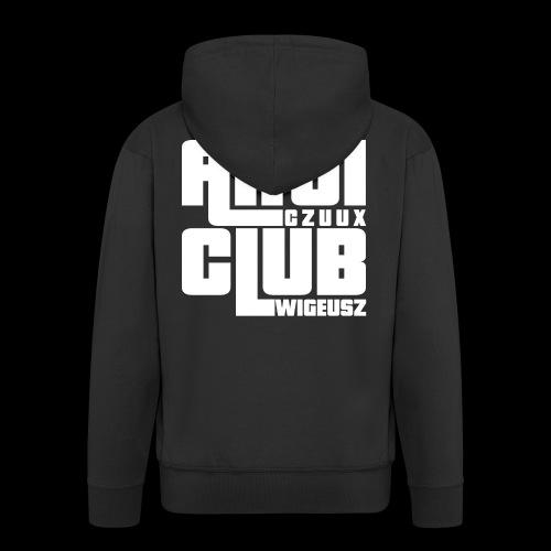 Anti Czuux Wigeusz Club - Rozpinana bluza męska z kapturem Premium