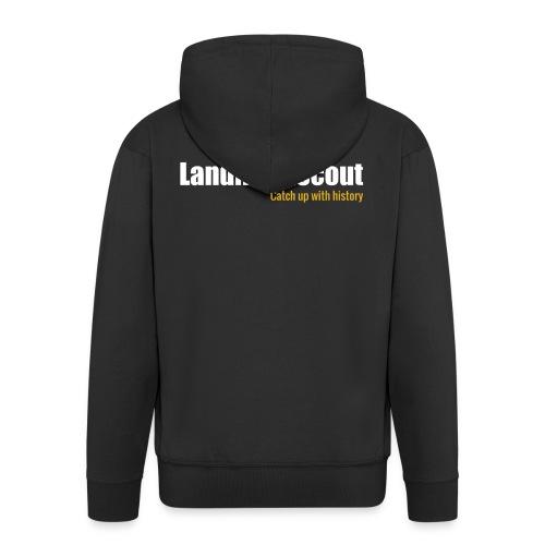 Tshirt Black Back logo 2013 png - Men's Premium Hooded Jacket