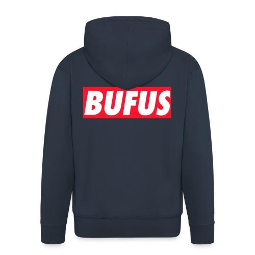BUFUS - Felpa con zip Premium da uomo
