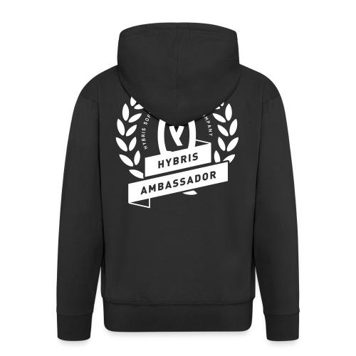 hybris ambassador - Männer Premium Kapuzenjacke