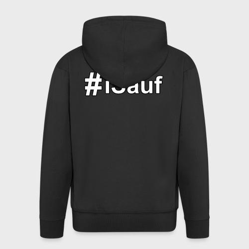 Hashtag iSauf klein - Männer Premium Kapuzenjacke