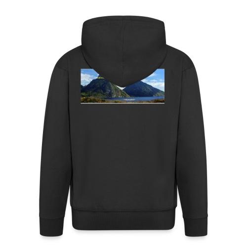 believe in yourself - Men's Premium Hooded Jacket
