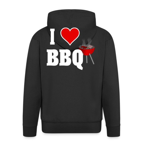 BBQ Barbecue - Männer Premium Kapuzenjacke