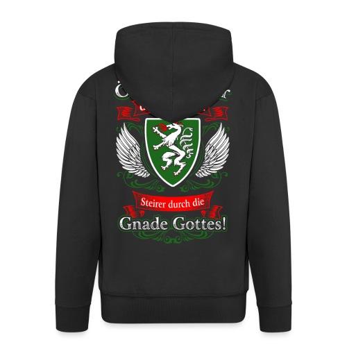 Steirer durch die Gnade Gottes Geschenk Steiermark - Männer Premium Kapuzenjacke