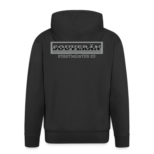 souveräntshirt - Männer Premium Kapuzenjacke