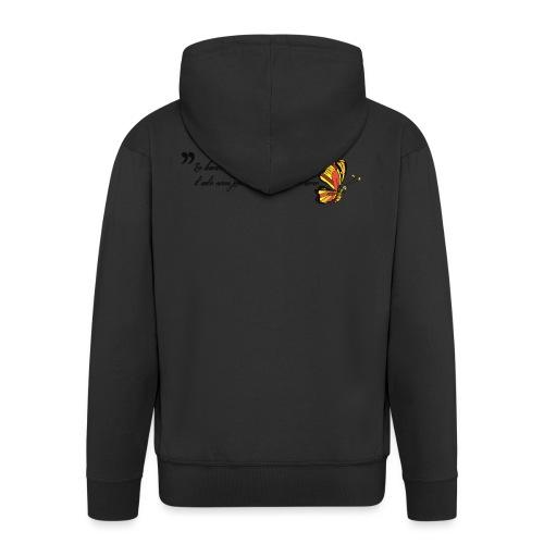 Papillon de bonheur - Veste à capuche Premium Homme
