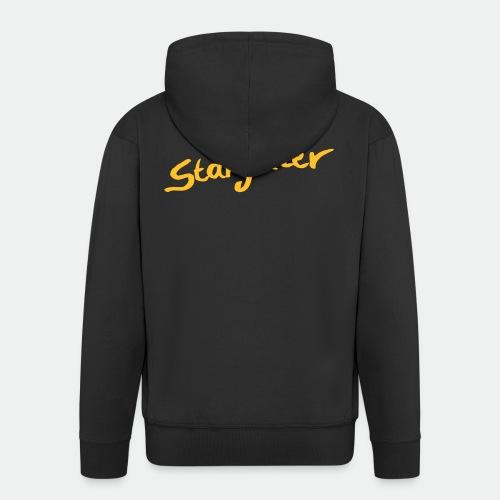 Starglitter - Lettering - Men's Premium Hooded Jacket