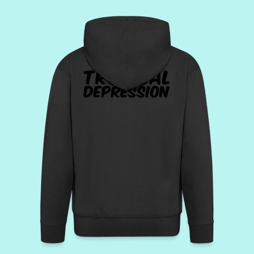 Tropical Depression - Männer Premium Kapuzenjacke