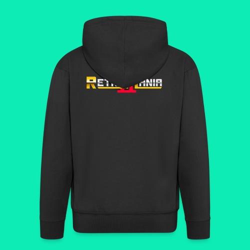 Retro Mania II - Logo - Männer Premium Kapuzenjacke