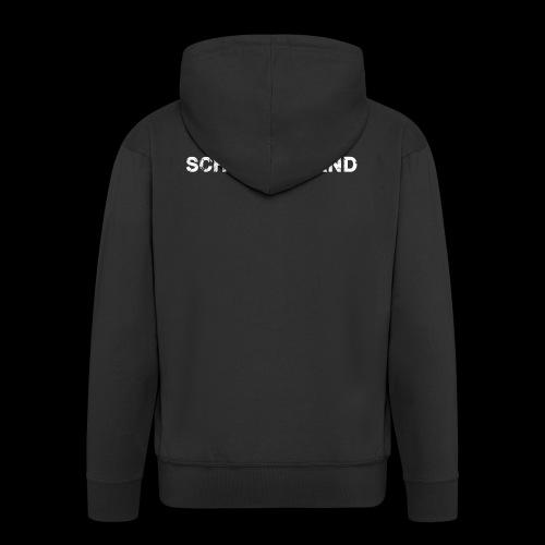 SCHINKO BAND Logo Weiß - Männer Premium Kapuzenjacke