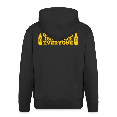 Good Beer - Men's Premium Hooded Jacket