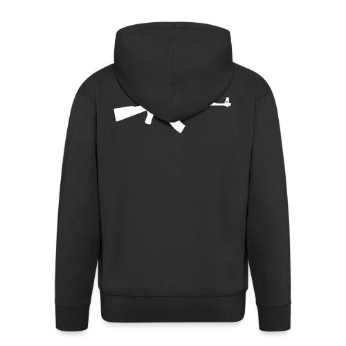 AK-47 - Miesten premium vetoketjullinen huppari