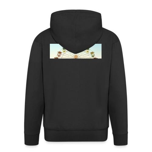 header_image_cream - Men's Premium Hooded Jacket