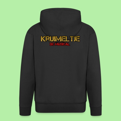 Hoesje I-phone 6/6s Kruimeltje de Musical - Mannenjack Premium met capuchon