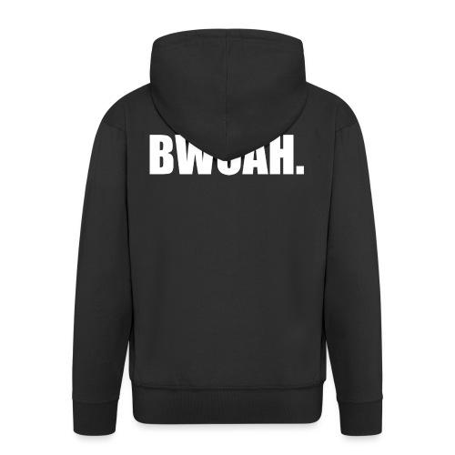 Bwoah - Miesten premium vetoketjullinen huppari