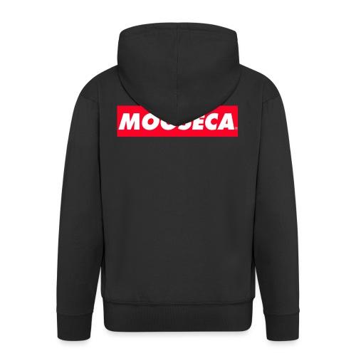 MOOSECA T-SHIRT - Felpa con zip Premium da uomo