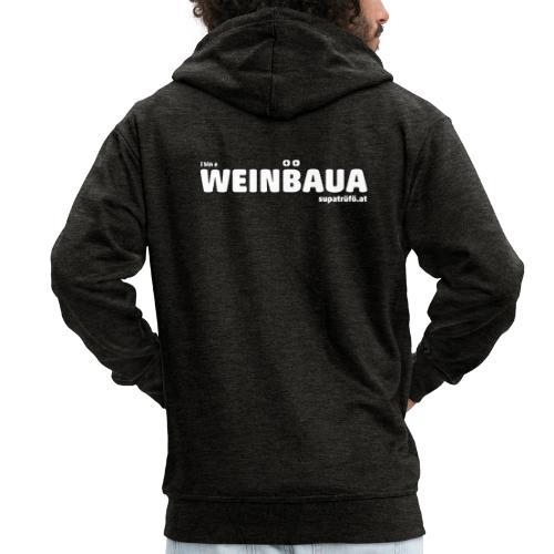 WEINBAUA - Männer Premium Kapuzenjacke
