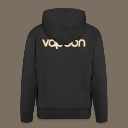 Vapoon Logo simpel 2 Farb - Männer Premium Kapuzenjacke