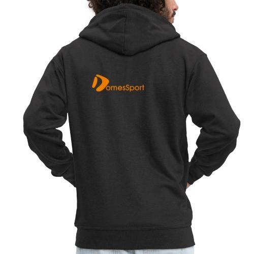 Logo DomesSport Orange noBg - Männer Premium Kapuzenjacke