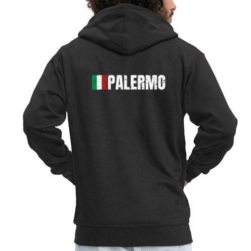 00071 Casa Papel Palermo bandera italia - Chaqueta con capucha premium hombre