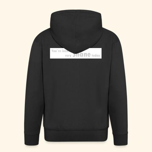 You`re looking very Shane today - Rozpinana bluza męska z kapturem Premium
