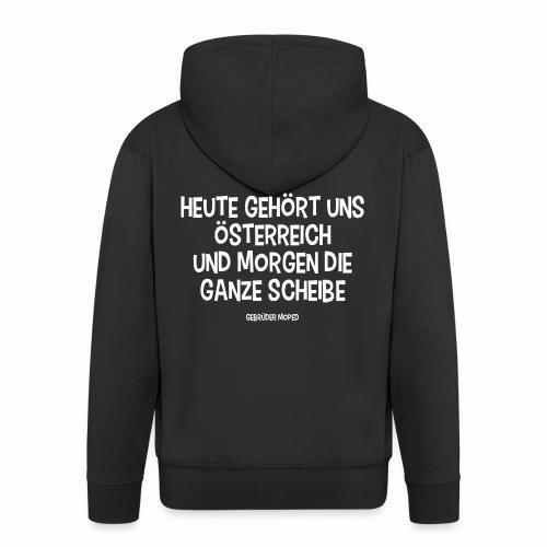 Scheibe Österreich - Männer Premium Kapuzenjacke