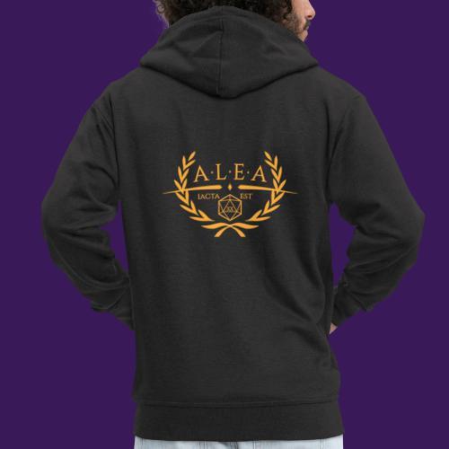 ALEA Logo Gold - Männer Premium Kapuzenjacke