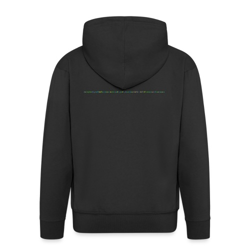 immenso_eterno_amore_spreadshirt_04-gif - Felpa con zip Premium da uomo