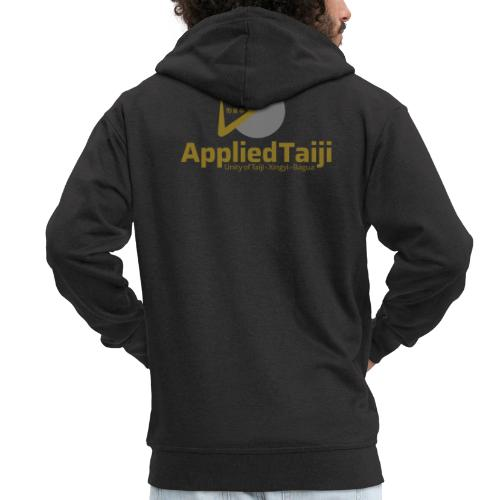Applied Taiji Logo Master - Männer Premium Kapuzenjacke