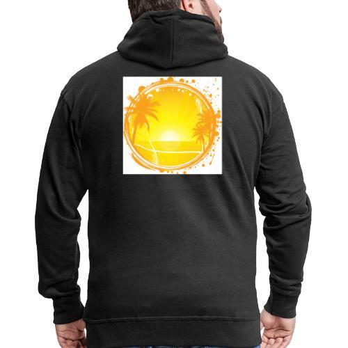 Sunburn - Men's Premium Hooded Jacket