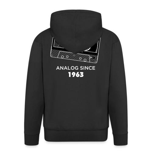 Analog since 1963 - Men's Premium Hooded Jacket
