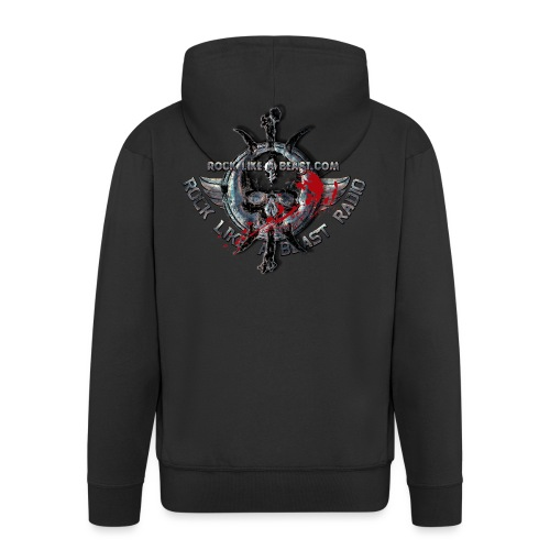 Blood Skull Logo - Premium-Luvjacka herr