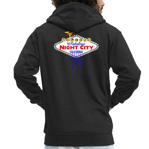 Cyber Punk Night City 2077 - Männer Premium Kapuzenjacke