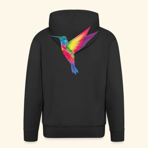 Kolibri - wild und frei - Männer Premium Kapuzenjacke
