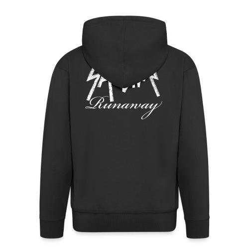 SANTINA gif - Men's Premium Hooded Jacket