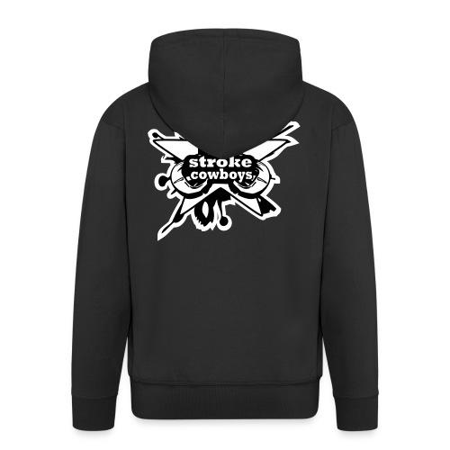 2_sc_logo_END - Männer Premium Kapuzenjacke