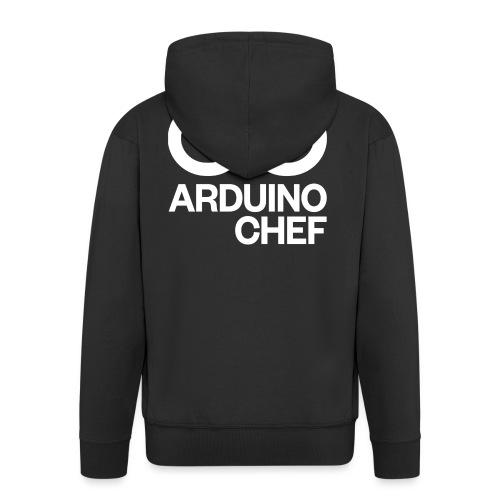 Arduino Chef - Männer Premium Kapuzenjacke