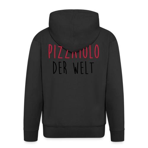 Koch Pizzaiolo Pizza Köchin Kochen Chef Küchenchef - Männer Premium Kapuzenjacke