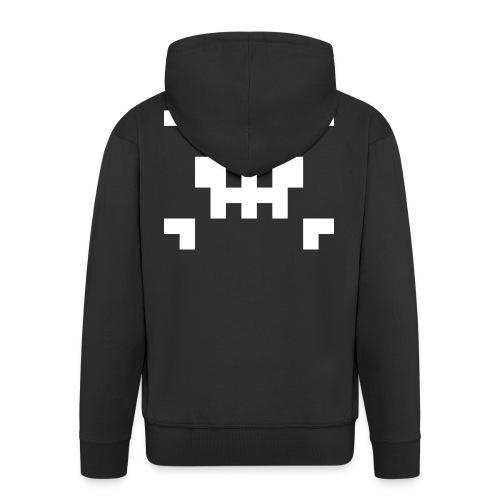 Pixel Skull - Veste à capuche Premium Homme