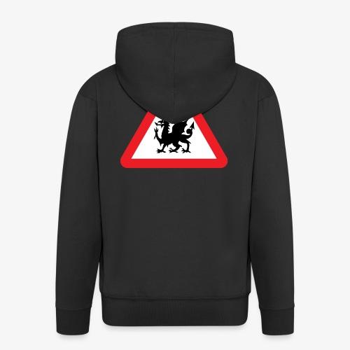 Welsh Dragon - Men's Premium Hooded Jacket