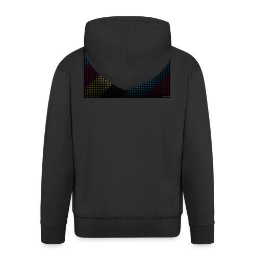 techno_dots_y_t_f-jpg - Men's Premium Hooded Jacket