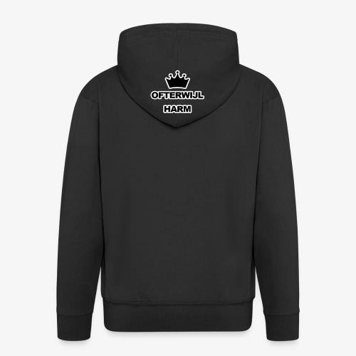 logo png - Mannenjack Premium met capuchon