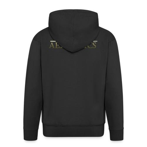 God Aesthetics Aesthetics Warrior Fitness Shredded - Men's Premium Hooded Jacket