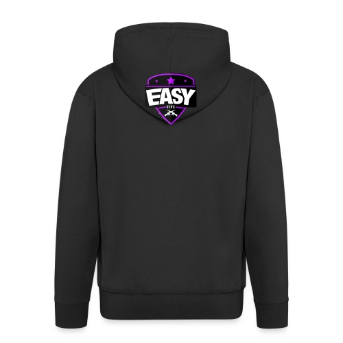 Team EasyFive Galaxy s4 kuoret - Miesten premium vetoketjullinen huppari