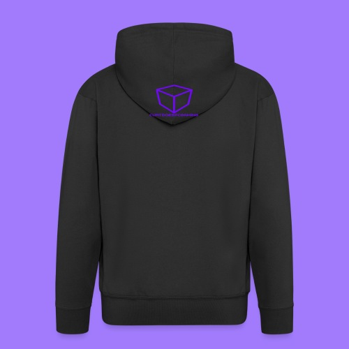 curtdoespcgaming logo #2 - Men's Premium Hooded Jacket