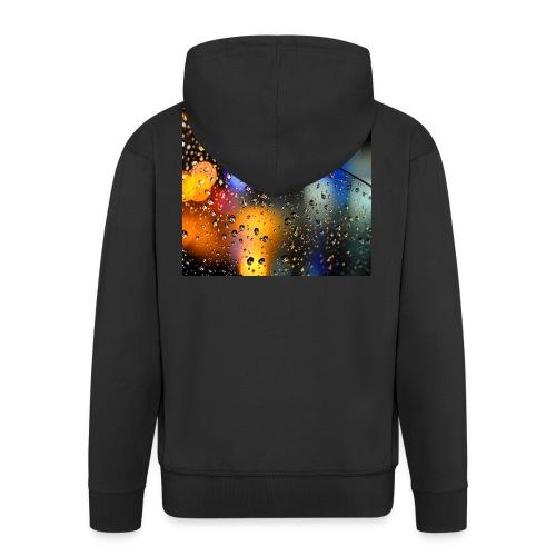 Abstract - Chaqueta con capucha premium hombre